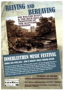 Poster Innerleithen Music Festival